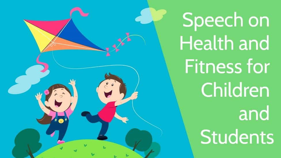Photo of Speech on Health and Fitness for Children and Students in 1000 Words