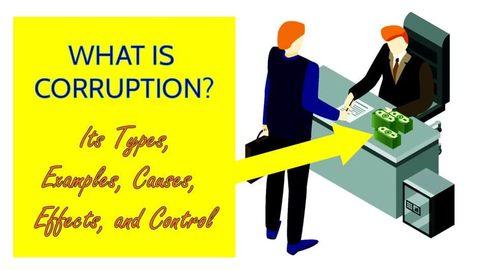 What is Corruption reasons ? Its Types, Examples, Causes, Effects, and Control