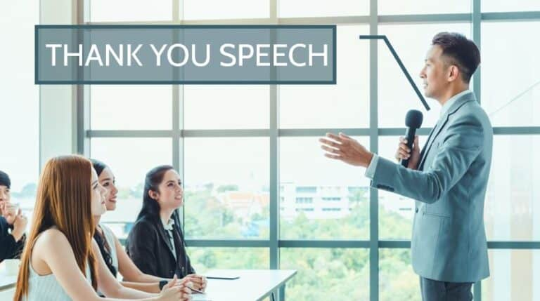 Thank You Speech Samples for Teachers, Students, Party, Personal Event