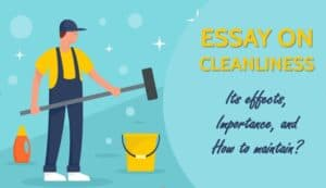 Essay on Cleanliness, Its effects, Importance, and How to maintain?