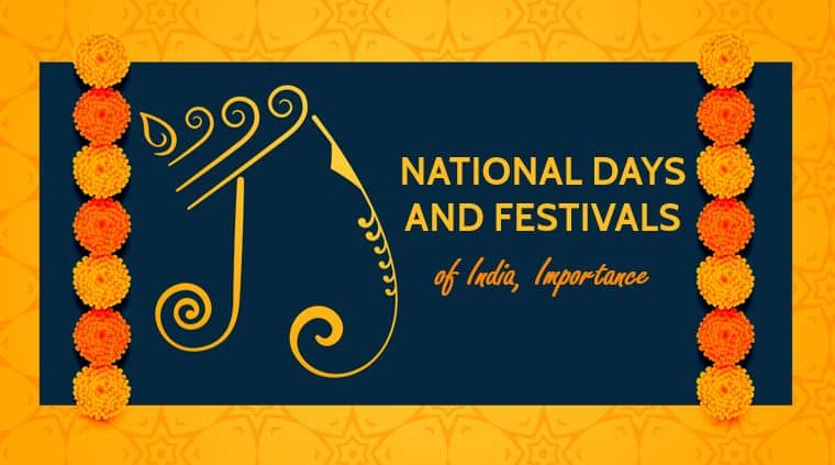 National Days and Festivals of India, Importance