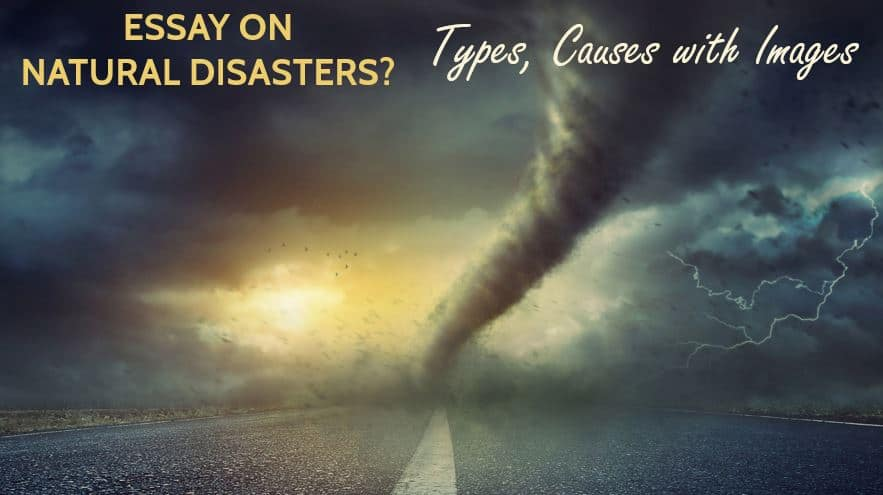 Essay on Natural Disasters? Its Types, Causes with Images