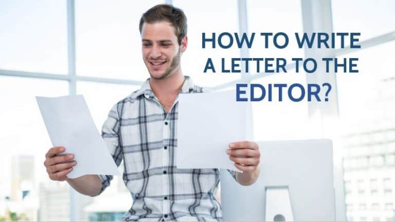 How to Write A Letter To The Editor? with Samples