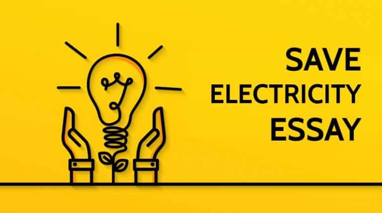 Save Electricity Essay for Students & Children 1000 Words